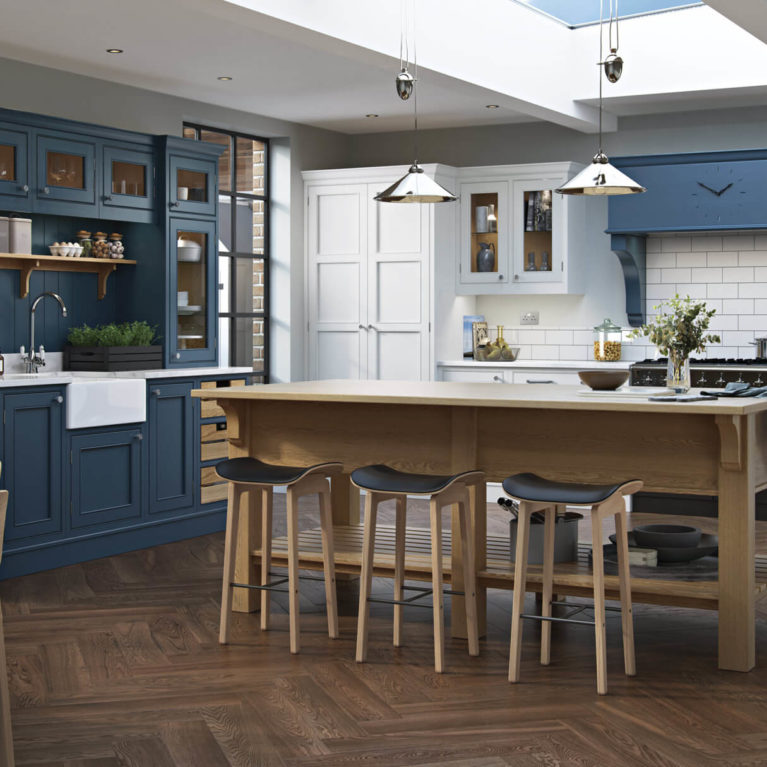 bespoke_modern_contemporary_lawrence_painted_brilliant-white-parisianblue_kitchen_hero